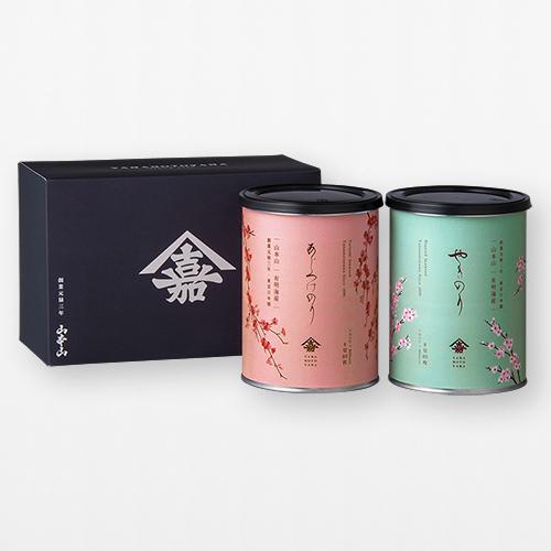 秋限定デザイン巻紙海苔缶2個セット