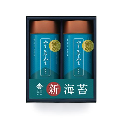 新海苔山本山焼海苔2缶セット